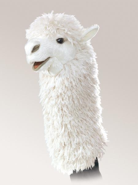 Alpaca Stage Puppet - Folkmanis (2885)