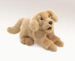 Golden Retriever Puppy Puppet - Folkmanis (2862)