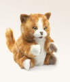 Orange Tabby Kitten Puppet - Folkmanis (2845)