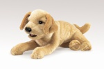 Yellow Labrador Puppy Puppet - Folkmanis (2833)