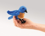 Mini Bluebird Finger Puppet - Folkmanis (2755)