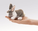 Mini Bunny Rabbit Finger Puppet - Folkmanis (2727)