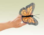 Mini Monarch Butterfly Finger Puppet - Folkmanis (2156)