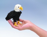 Mini Eagle Finger Puppet - Folkmanis (2642)