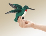 Mini Hummingbird Finger Puppet - Folkmanis (2691)