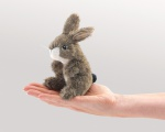 Mini Jack Rabbit Finger Puppet - Folkmanis (2675)