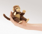 Mini Monkey Finger Puppet - Folkmanis (2738)