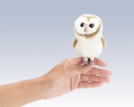 Mini Barn Owl Finger Puppet - Folkmanis (2645)