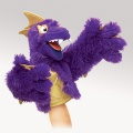 Purple Pi Monster Puppet - Folkmanis (2946)