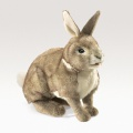 Rabbit, Cottontail Puppet - Folkmanis (2891)