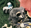 Baby Raccoon Puppet - Folkmanis (2238)