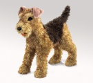 Airedale Terrier Puppet - Folkmanis (2993)