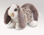 Baby Lop Ear Rabbit Puppet - Folkmanis (3048)
