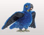 Blue Macaw Puppet - Folkmanis (3060)