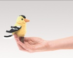 Mini Goldfinch Finger Puppet - Folkmanis (2762)