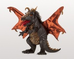 Black Dragon Puppet - Folkmanis (3069) - FREE SHIPPING!