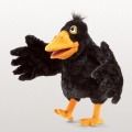Yellow Beaked Crow Puppet - Folkmanis (3068)