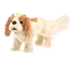 Cavalier King Charles Spaniel Hand Puppet - Folkmanis (3096)