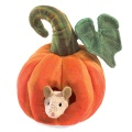 Mouse In Pumpkin Puppet - Folkmanis (3118)